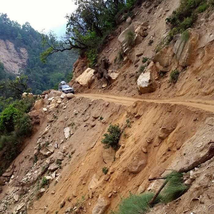 The government is taking the initiative to clear the seasonal road and it is hoped that it should be open soon.